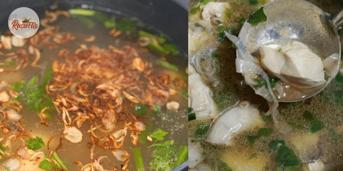 Resepi Sup Ayam Yang Mudah, Cepat & Sangat Menyelerakan