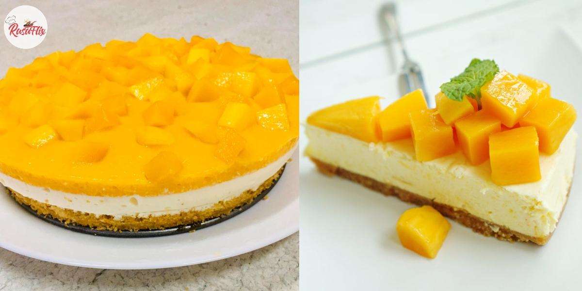 Cara Buat Mango Cheesecake Tanpa Oven, Setiap Suapan Pasti Teringat-ingat!