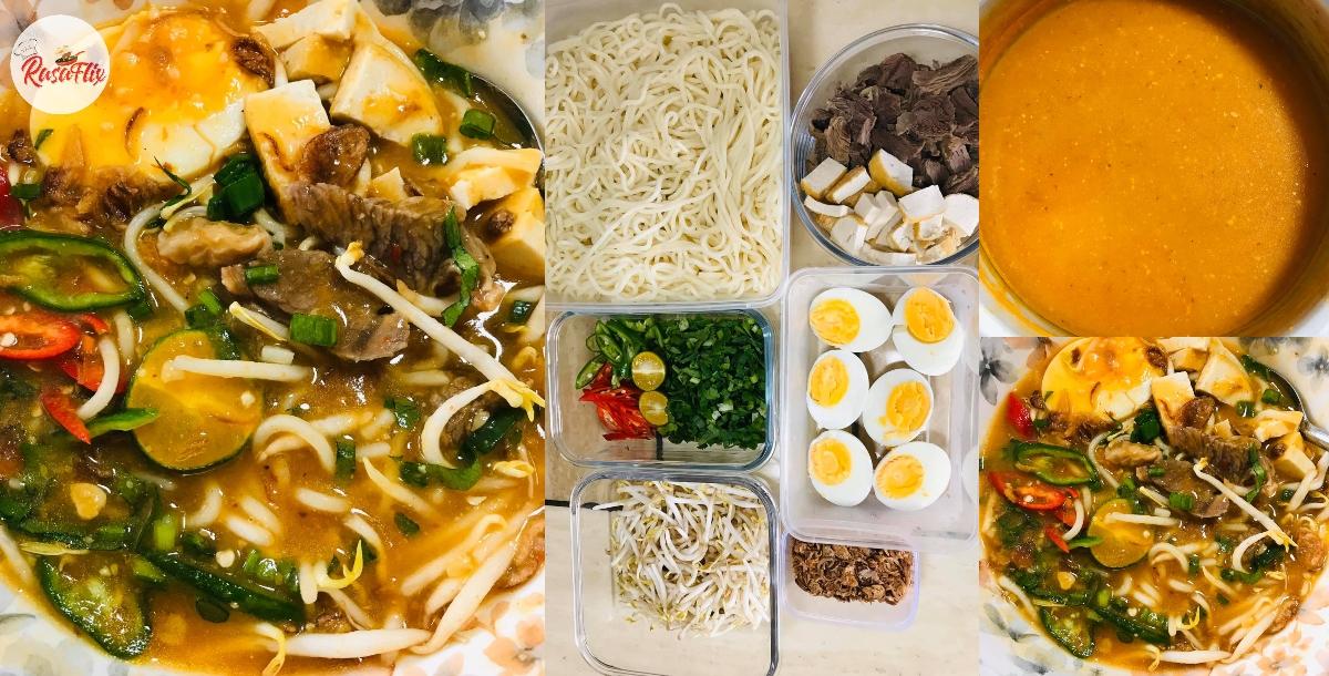 Ini Dia Resepi Mi Rebus Utara Original, Enak Dimakan Sama Kuah Pekat 'Kaw'