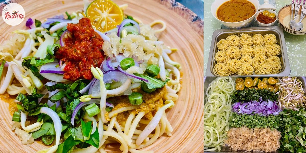 Resepi Laksa Johor Kuah Padu, Sekali Makan Confirm Nak Tambah Lagi