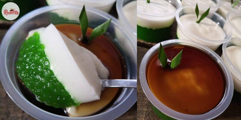 Resepi Som-Som Sagu Gula Melaka 'Bergedik', Nikmat Dimakan Sejuk-Sejuk