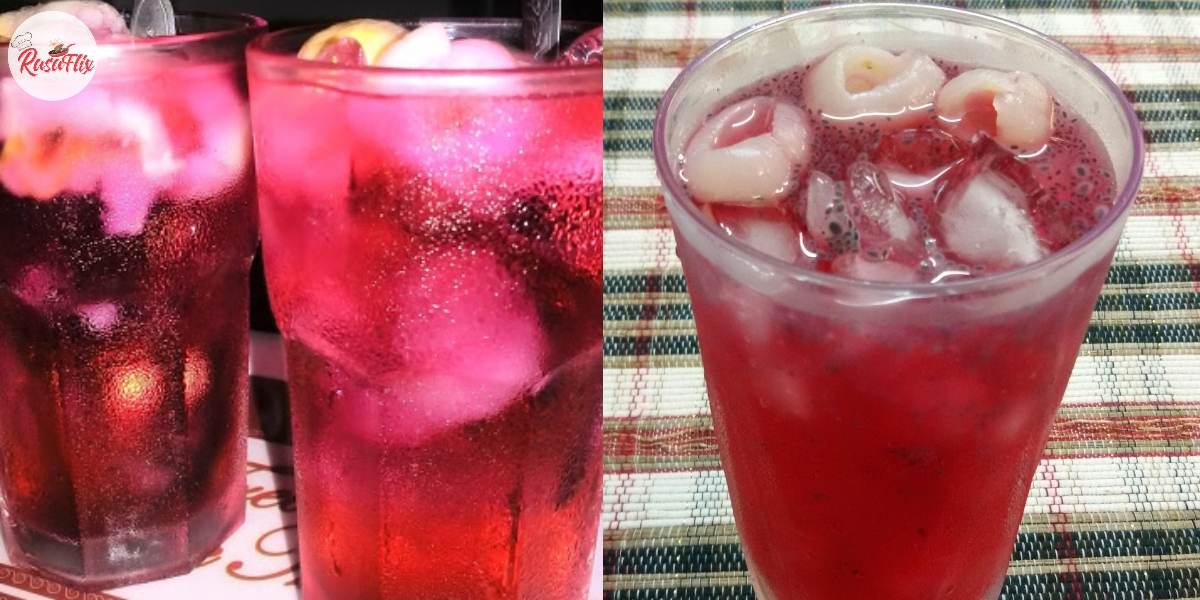 Cara Bancuh Air Soda Sirap Laici, Fresh Macam Di Bazar Ramadan!
