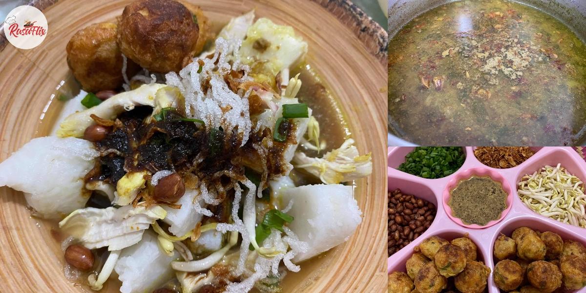 Resepi Soto Nasi Impit Kuah Power, Sedap Hingga Menjilat Mangkuk!