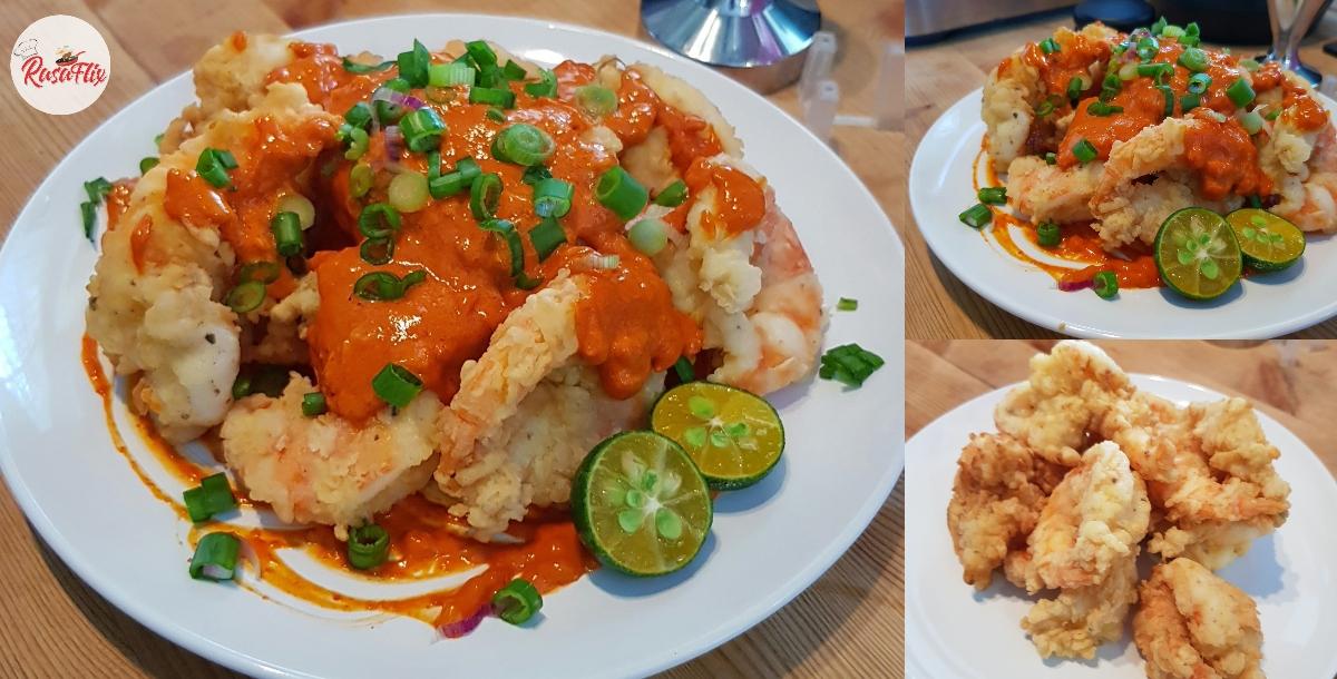 Resepi Masak Udang Mayo Viral – Rasa Masam, Manis & Pedas Menyengat!