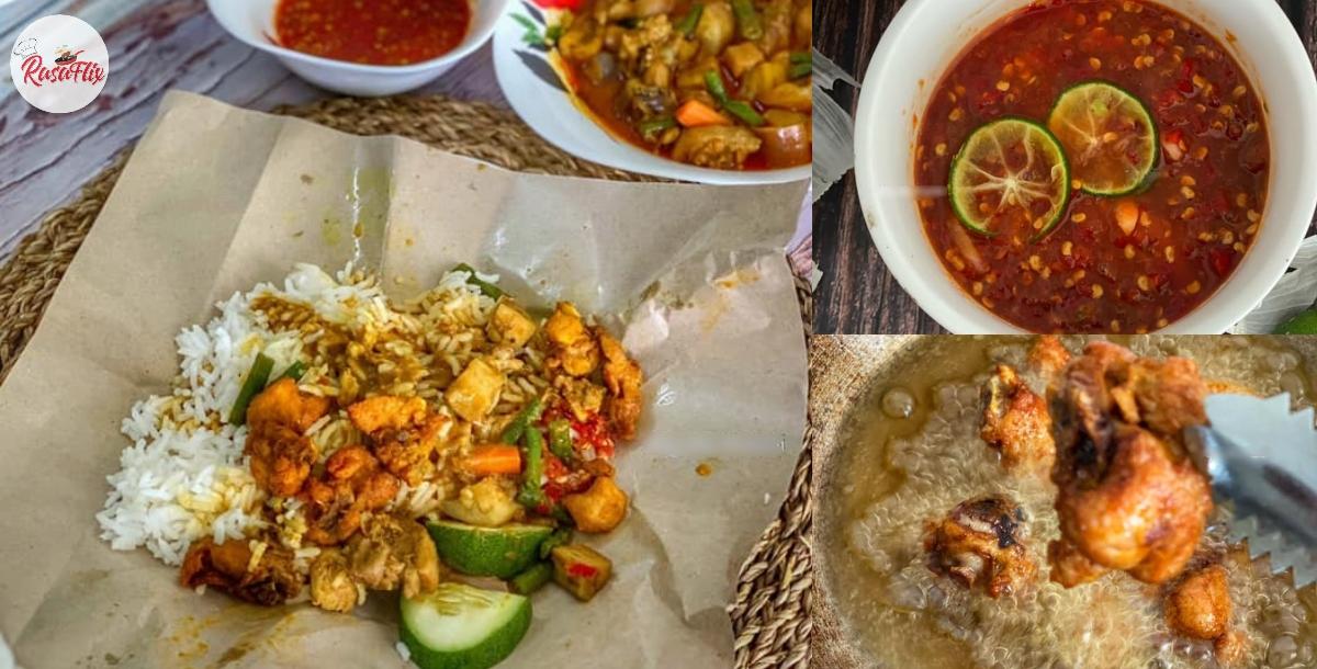 Resepi Special Nasi Kak Wok- Makan Dengan Sambal Killer, Confirm Menyengat