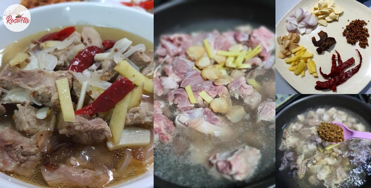 Resepi Mudah Daging Masak Singgang, Hirup Kuahnya Tak Cukup Sepinggan!