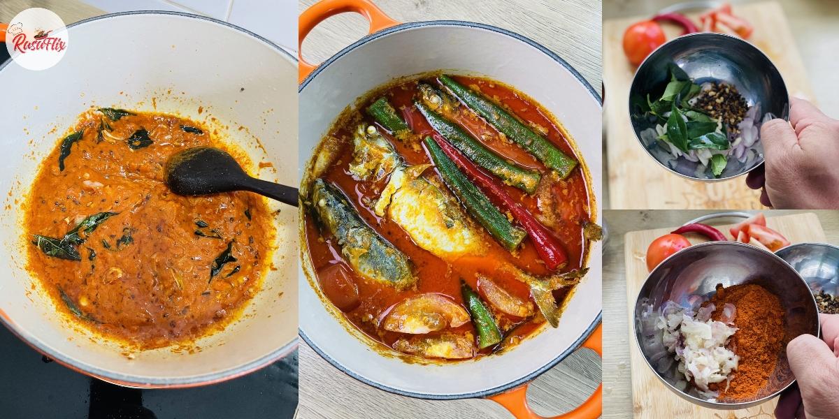 Gulai Lazat Ikan Termenung Piau, Resepi Original Oghang Utara!