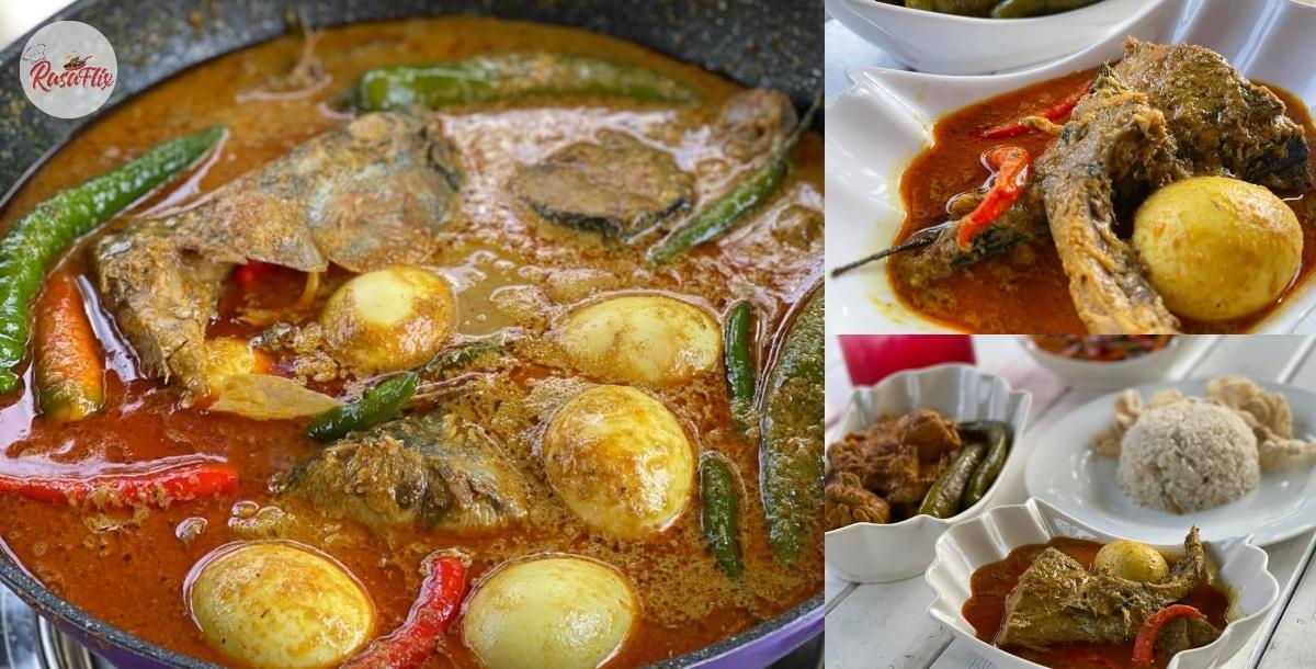 Lazat & Menyelerakan, Resepi Asli Gulai Ikan Tongkol Nasi Dagang 'Kaw'!