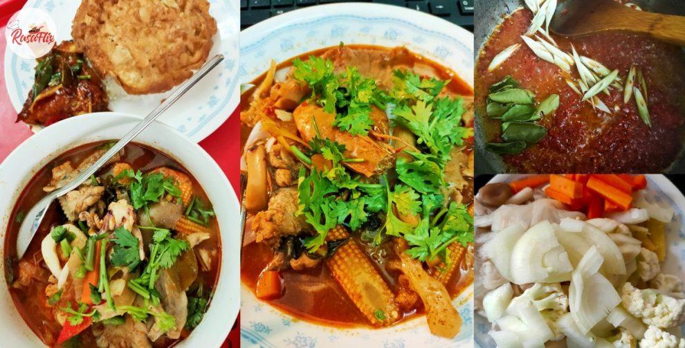 Resepi Tomyum Campur Padu & Terangkat, Sedapnya Mengalahkan Kedai Thai