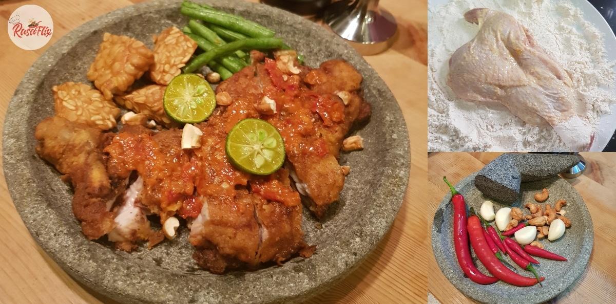 Resepi Mudah Ayam Geprek, Hidangan Hujung Minggu Untuk Keluarga Tercinta