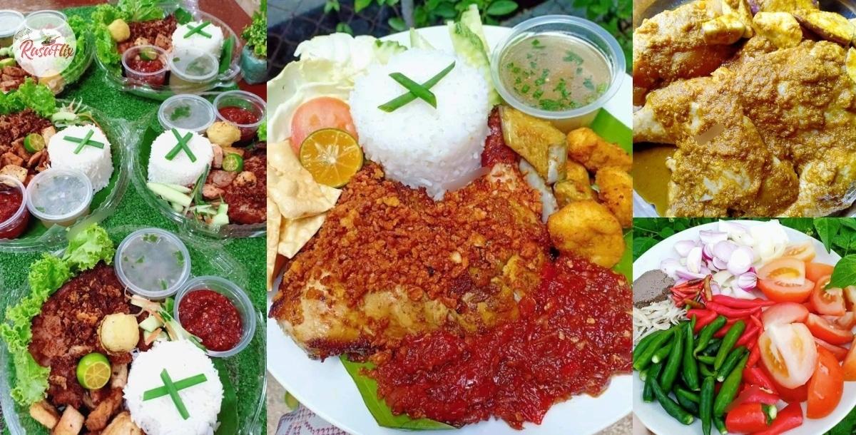 Jom Masak Nasi Ayam Penyet Ekspres, Sedap 'Dilawan' Dengan Sambal Gesek!