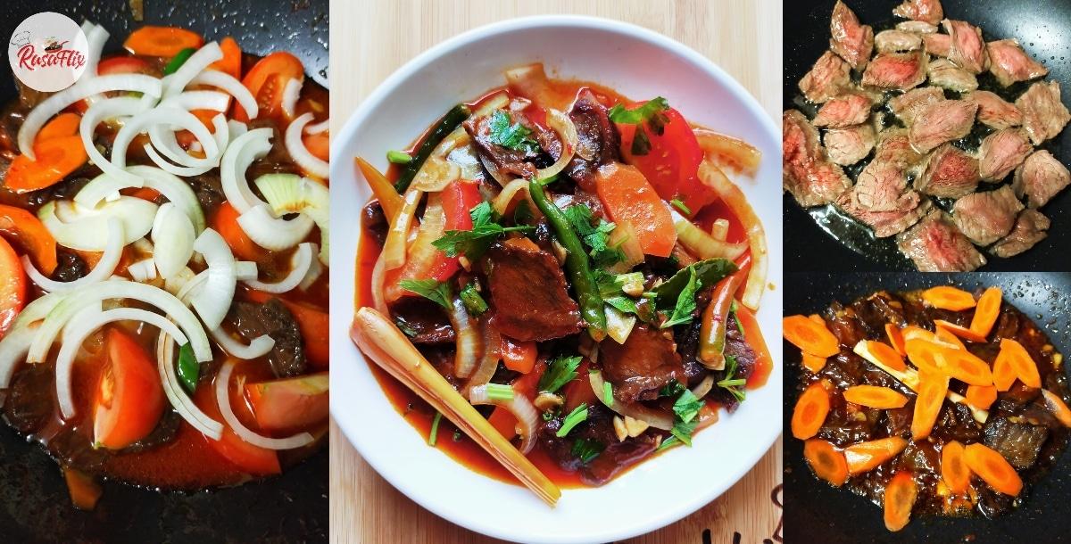 Resepi Daging Masak Merah Ala Thailand, Sama Padu Seperti Order Di Kedai