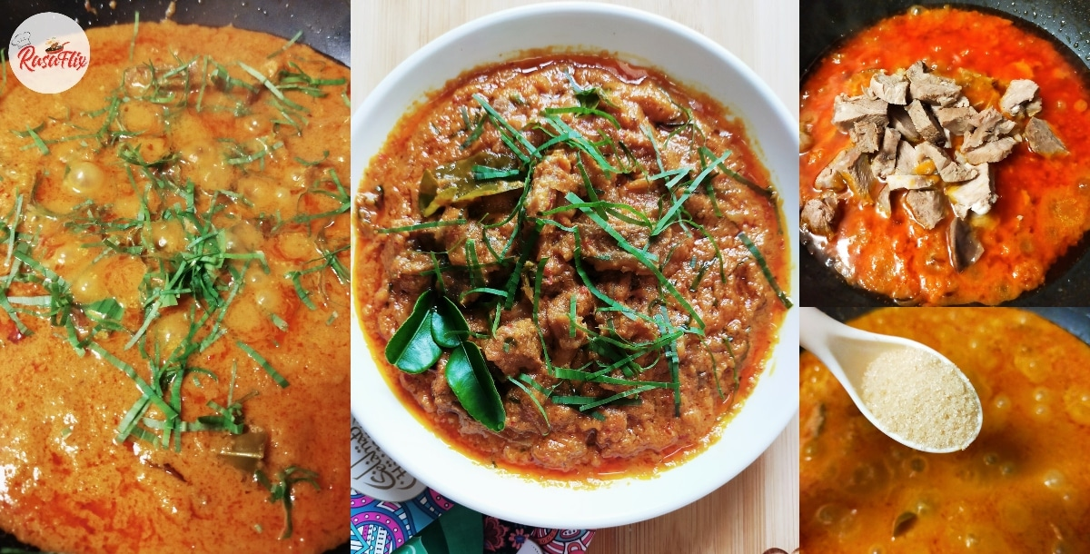 Resepi Rendang Daging Versi 'Raya PKP', Dijamin Sedap Giler!