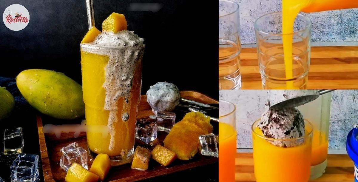 Resepi Mudah Mango Float Oreo, Penyejuk Tekak Di Kala Cuaca Panas!