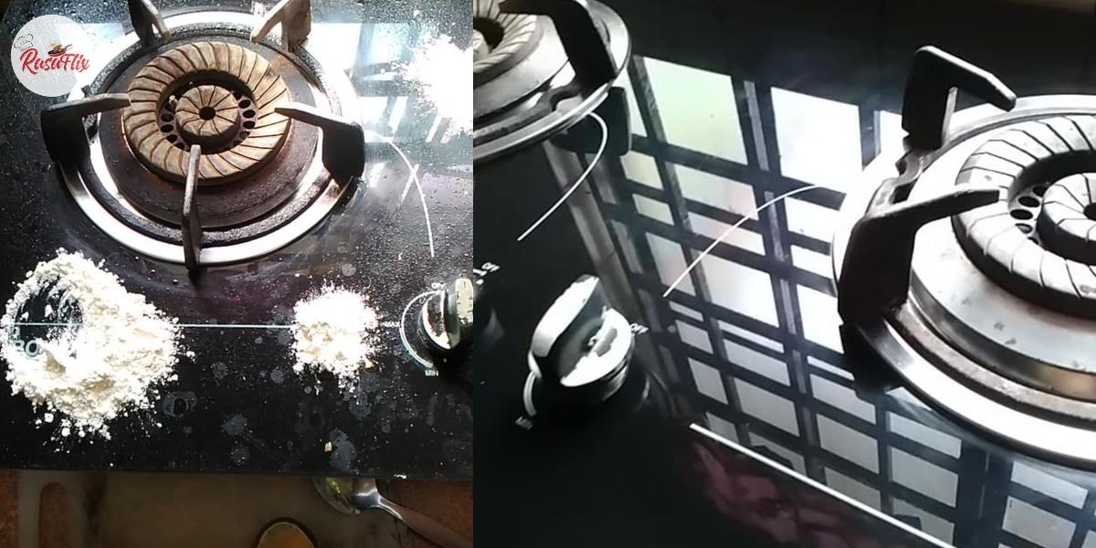 Risau Cermin Dapur Retak? Tak Guna Air Pun Berkilat Kalau Ikut Tips Ini