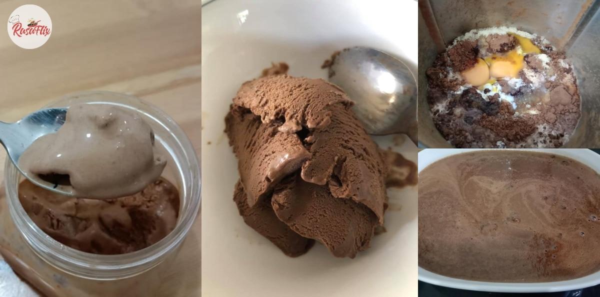 Tiada Pewarna Tiruan, Jom Buat Aiskrim Coklat Confirm Selamat Untuk Anak