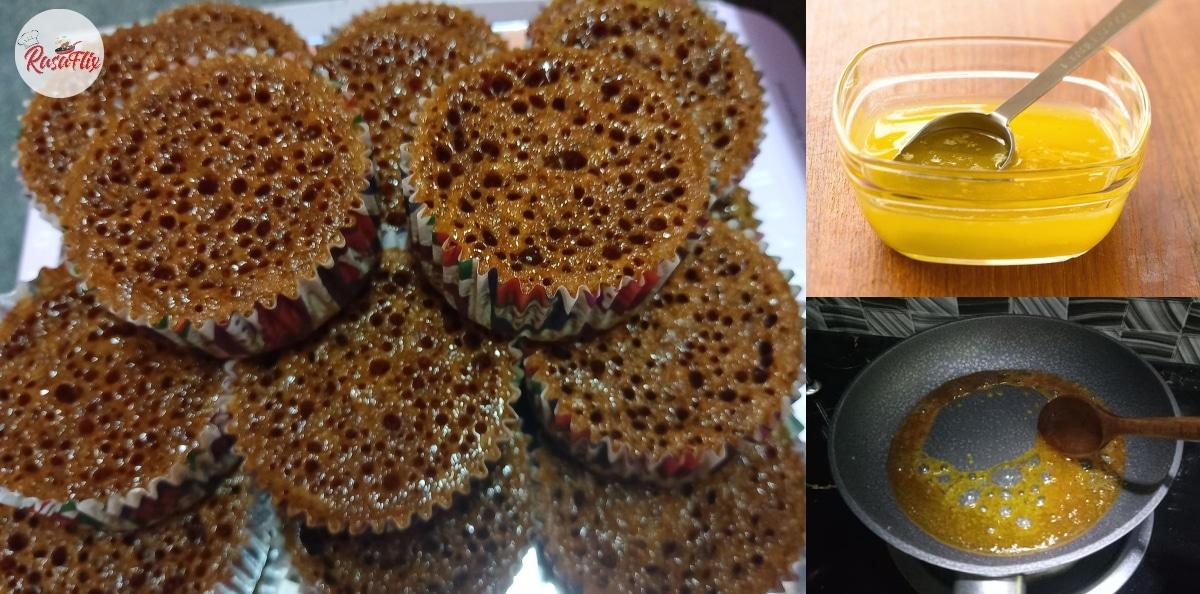 Resepi Sarang Semut Versi Cupcake, Lembut & Manisnya Confirm Terasa!