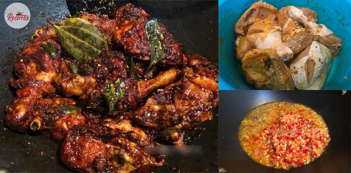 Resepi Ayam Kicap Pedas Lain Dari Yang Lain, Makan 1 Confirm Tak Cukup