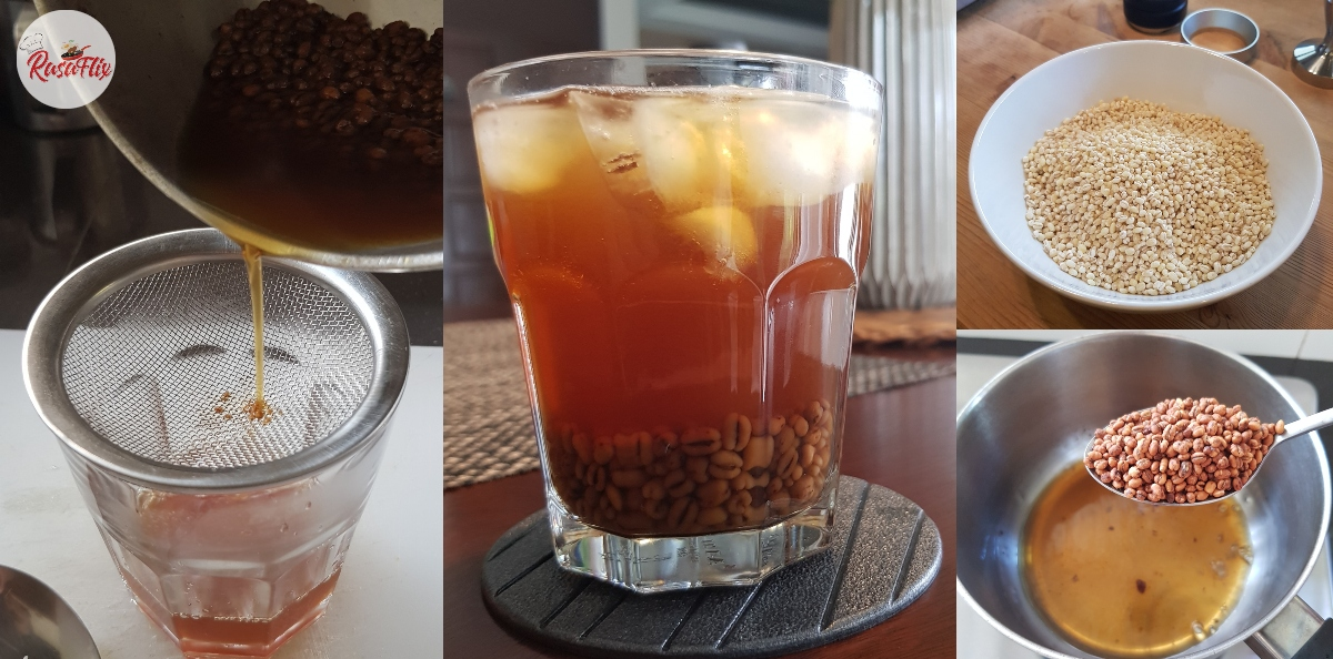 Boring Balik-Balik Minum Teh & Kopi Je, Jom 'Pekena' Air Barli Panggang