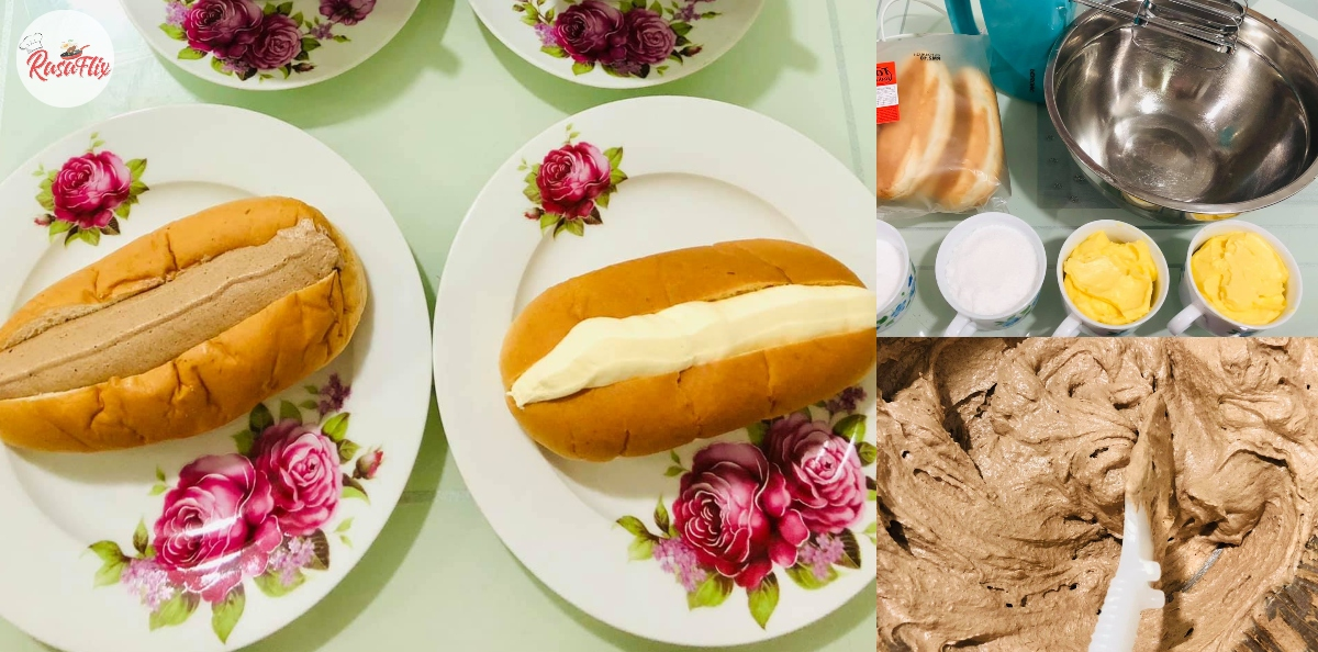 Kembalikan Nostalgia Zaman Kanak-Kanak, Mudahnya Buat Roti Krim Di Rumah!