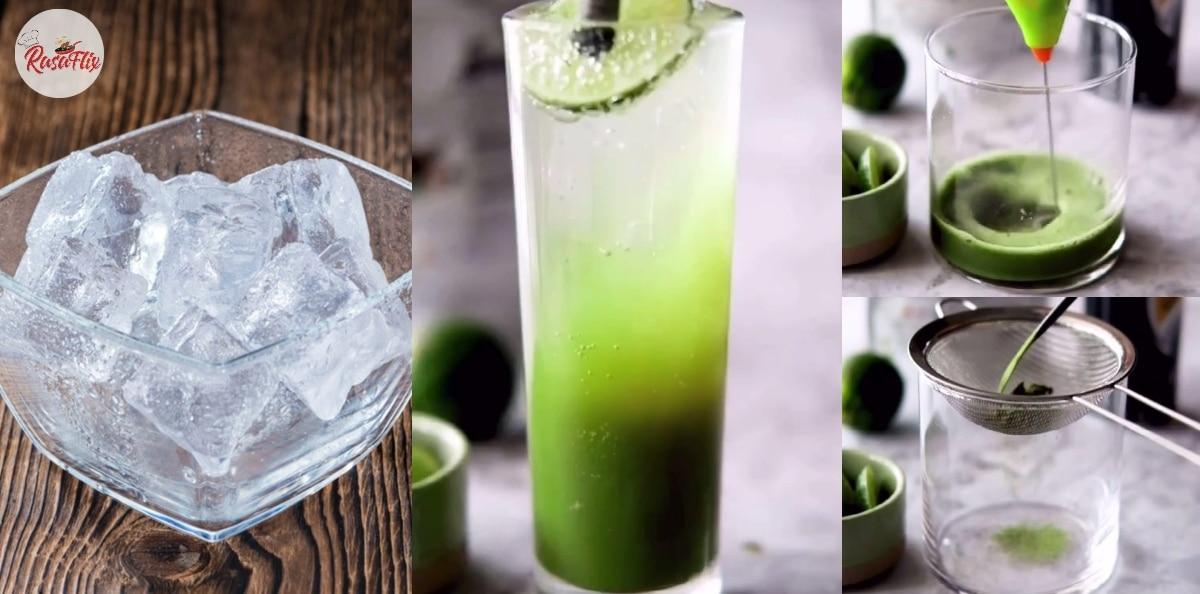 Resepi Air Hipster Matcha Soda, Minuman Segar Terbaik Musim Panas Ini!